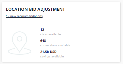 Location Bid Adjustment