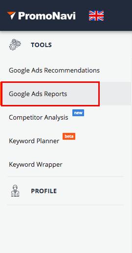 Google Ads Reports
